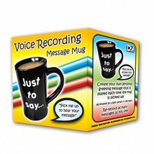 Voice Recording Novelty Mug