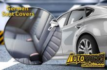 50% Off Autoworkz: Revamp Your Car with German Leatherette Seat Covers or Customized Fitted Floor Matting starting at P1250