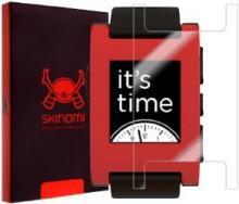 Skinomi TechSkin - Pebble Smartwatch Screen Protector Ultra Clear Shield