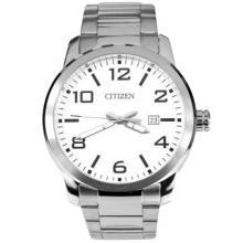 Citizen Silver Tone Gents Watch BI1020-57A
