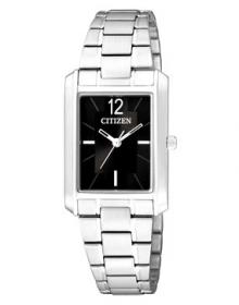 Citizen Analog Black Dial Women's Watch - ER0190-51E