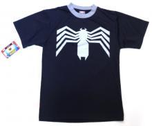 Venom (Spider-man) Marvel PureHero Performance Crew Shirt Large