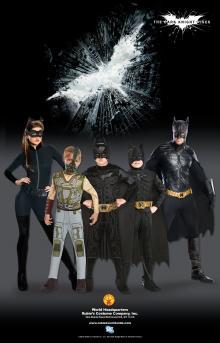 Batman Dark Knight Rises Child's Deluxe Bane Costume and Mask - Medium