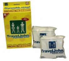 TravelJohn-Disposable Urinal (6 pack)