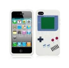 White Gameboy Silicone Case for Ipod touch 4 Brand New High Quality Fast Shipping