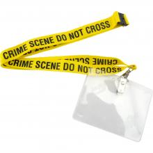 "Lanyard, ""Crime Scene Do Not Cross"""