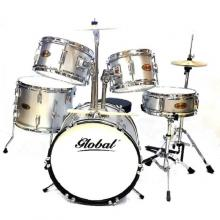 Global JR Drumset (Silver)
