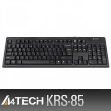 A4TECH KRS-85 Natural_A-shaped Round Edge USB Keyboard