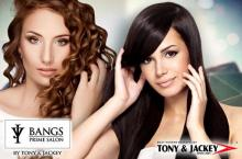 65% Off: Hair Rebond or Digital Perm & Haircut by Black Class Products at Tony & Jackey for P2999