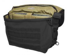 Hazard 4 Defense Courier Laptop Messenger Bag with Molle, Black