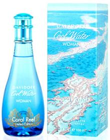 Cool Water Coral Reef by Davidoff Eau De Toilette Spray (Limited Edition) 3.4 oz for Women
