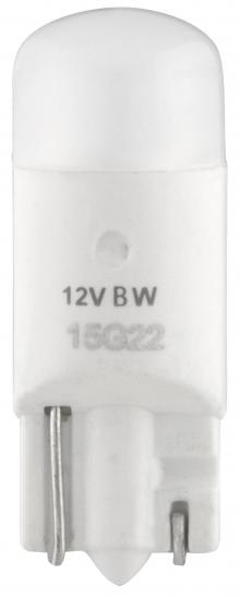 Philips 127916000KB2 Vision LED Car Lamp, 194 LED / T10 White 6000K, 2 Pack