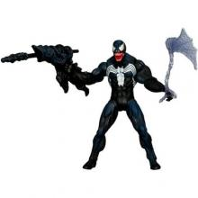 SpiderMan 2010 Series One 3 3/4 Inch Action Figure Toxic Blast Venom
