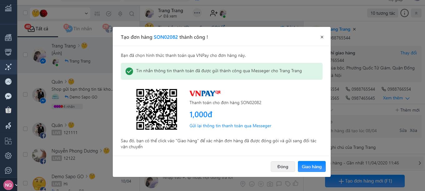 Sapo - VNPay tặng mã giảm giá cực HOT tới 50,000vnd/ đơn hàng