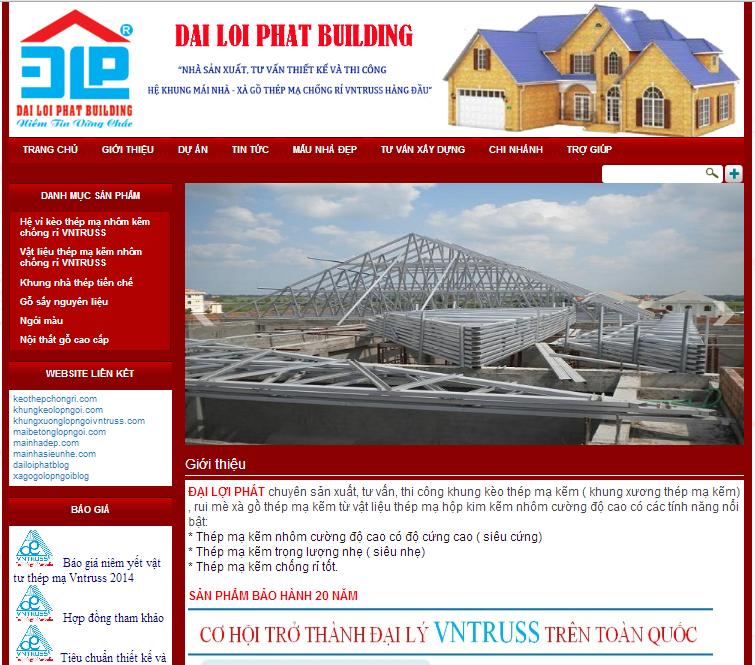 Các mẫu thiết kế website doanh nghiệp tuyệt đẹp từ Sapo Web