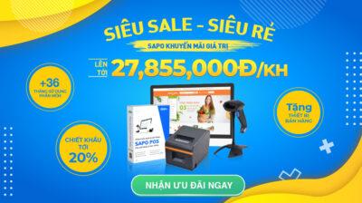 Quà xịn - Giá tốt từ Sapo: Tổng giá trị lên tới 27,885,000Đ/ Khách hàng