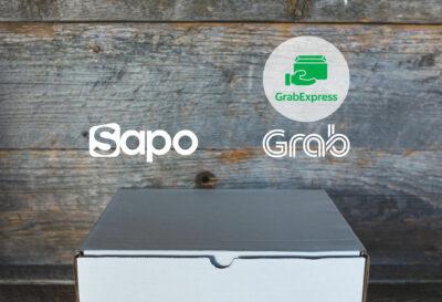 Sapo tích hợp GrabExpress - Giao hàng trong 2h, tặng tới 300k cho 10 chuyến Grab