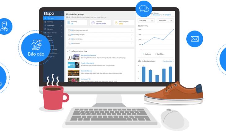 Sapo update hệ thống báo cáo động hoàn toàn mới - Tuỳ biến mạnh mẽ, linh hoạt theo nhu cầu