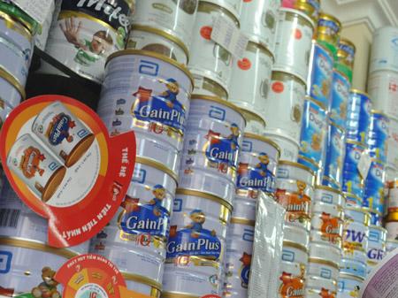 Nguồn hàng sữa bột xách tay cho các chủ shop online
