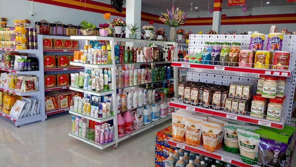 Cách trưng bày hàng hóa đẹp cho siêu thị mini tăng gấp đôi doanh thu