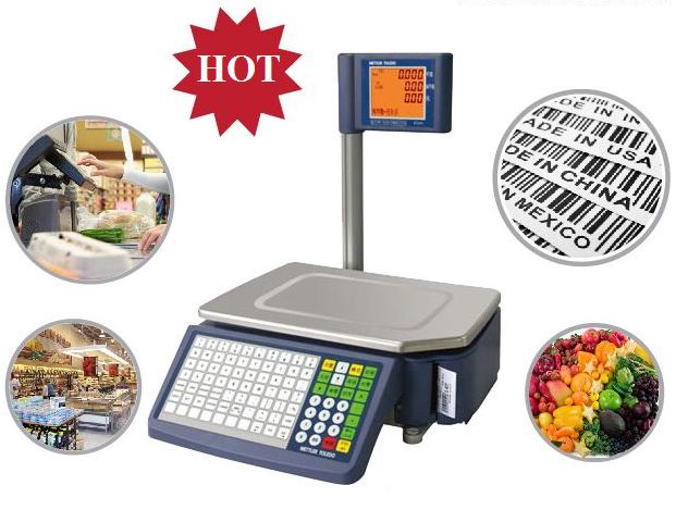 Tại sao cửa hàng thực phẩm nên sử dụng cân điện tử mã vạch?
