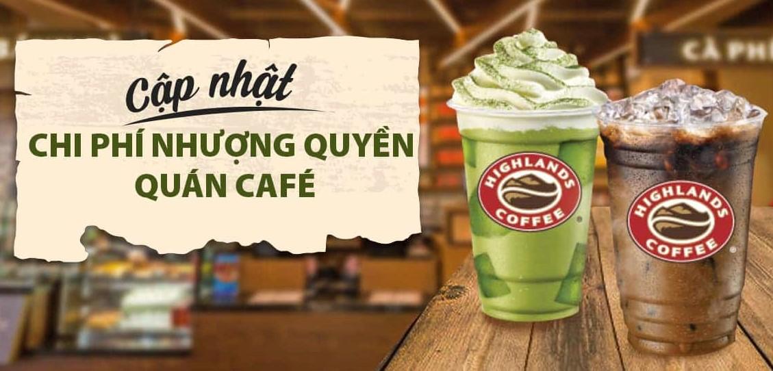 7 thương hiệu nhượng quyền cafe lợi nhuận cao nhất hiện nay