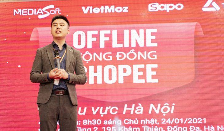Hơn 500 nhà bán hàng tham gia sự kiện offline cộng đồng Shopee Miền Bắc