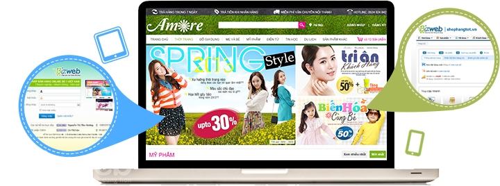 Để thiết kế website của bạn luôn hợp thời trong mắt khách hàng