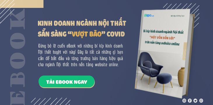 """[eBook] Bí kíp kinh doanh ngành Nội thất """"Một Vốn Bốn Lời"""" trên nền tảng website online"""
