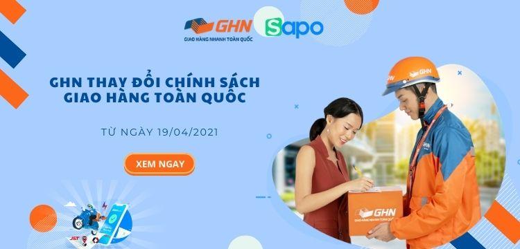 [Sapo Express] GHN thay đổi chính sách giao hàng toàn quốc