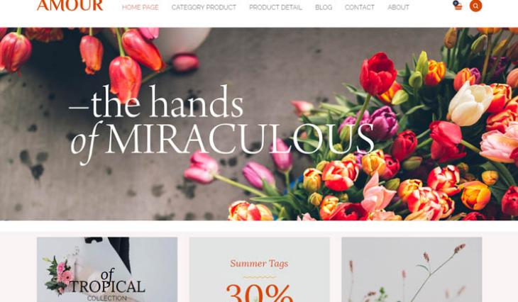 Những lưu ý để thiết kế website bán hoa tươi thu hút