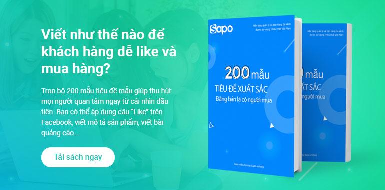[eBook] 200 mẫu tiêu đề xuất sắc, viết là bán được hàng