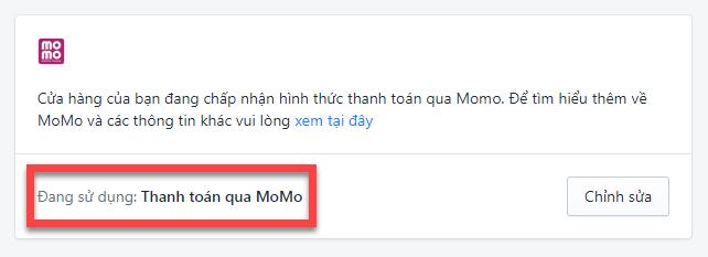 Sapo Web tích hợp thanh toán ví điện tử MOMO - Thanh toán nhanh hơn, an toàn hơn