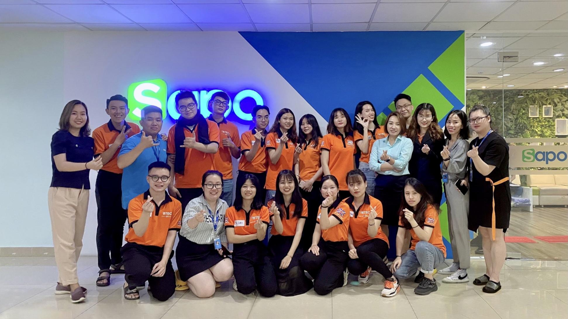 Sapo giao lưu chia sẻ với sinh viên Cao đẳng BTEC FPT