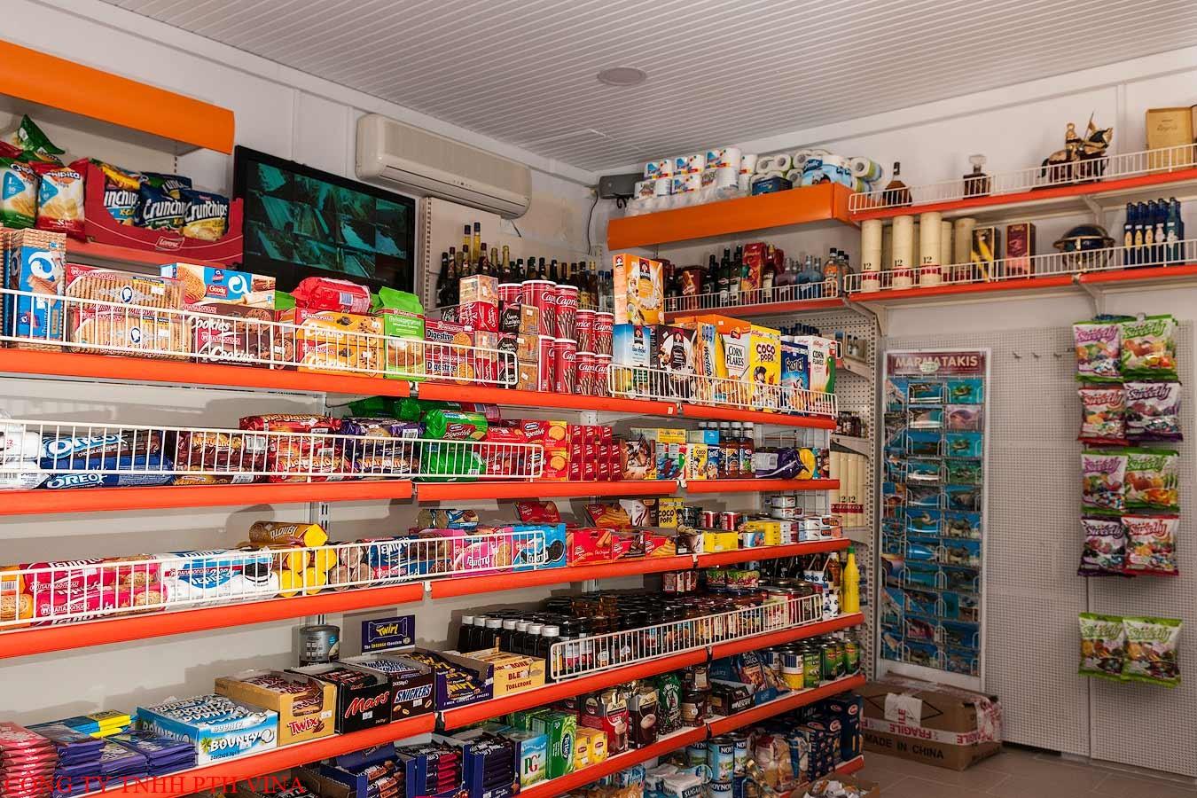 Cách trưng bày, sắp xếp hàng tạp hóa đẹp, gọn gàng trong cửa hàng