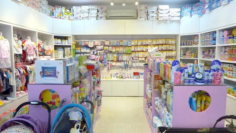 Chia sẻ kinh nghiệm mở cửa hàng mẹ và bé