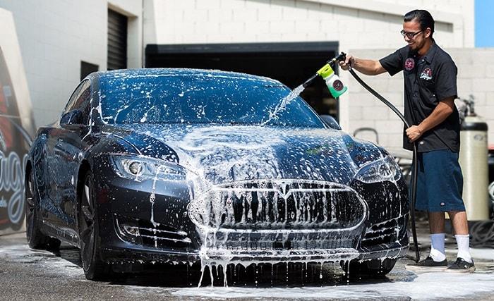 Kinh nghiệm mở tiệm rửa xe ô tô - Đầu tư thu lợi nhuận cao năm 2018