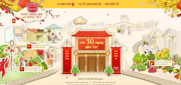 Làm thế nào để website của bạn ngập tràn hương vị Tết?