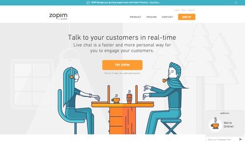 10 ứng dụng Live Chat hữu ích khi thiết kế website bán hàng (P1)