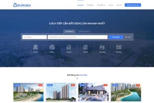 Top 10 mẫu website bất động sản thiết kế đẹp và chuyên nghiệp nhất hiện nay