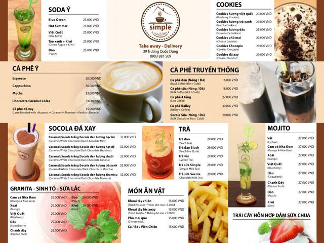 Mở quán cafe cần bao nhiêu vốn là đủ?