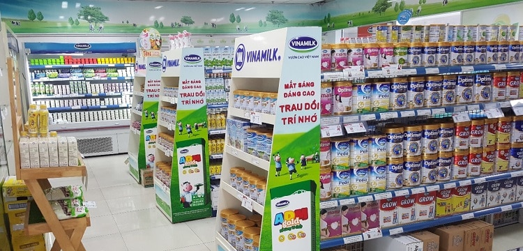 10 siêu thị sữa uy tín và chất lượng nhất
