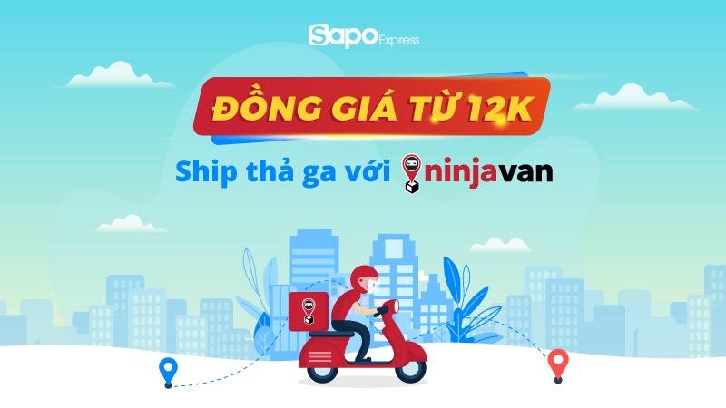 Sapo - NinjaVan đồng hành cùng chủ shop mùa Covid: Ưu đãi giá ship rẻ bất ngờ