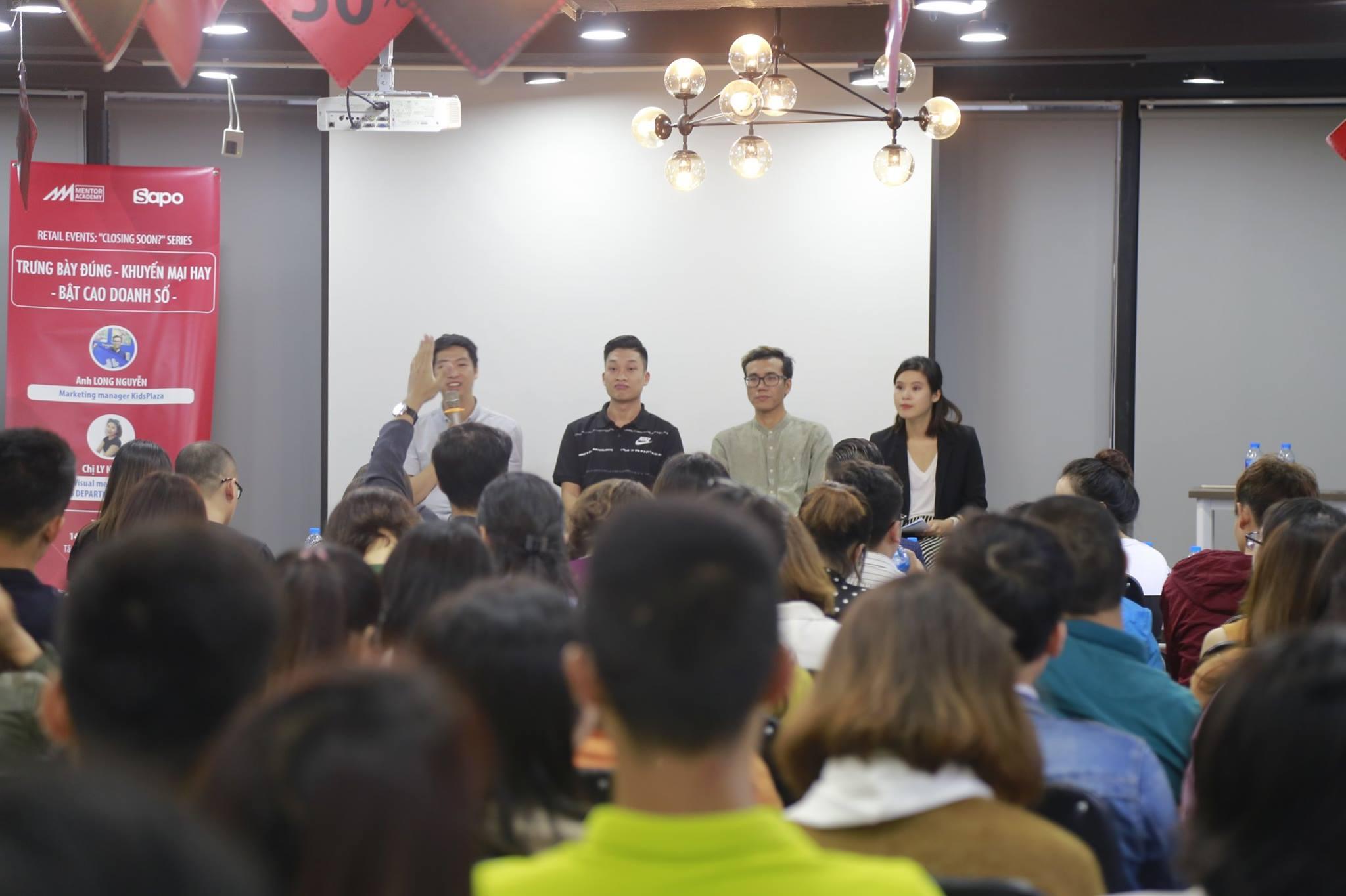 Hơn 200 chủ shop tham gia Retail Workshop cùng Sapo