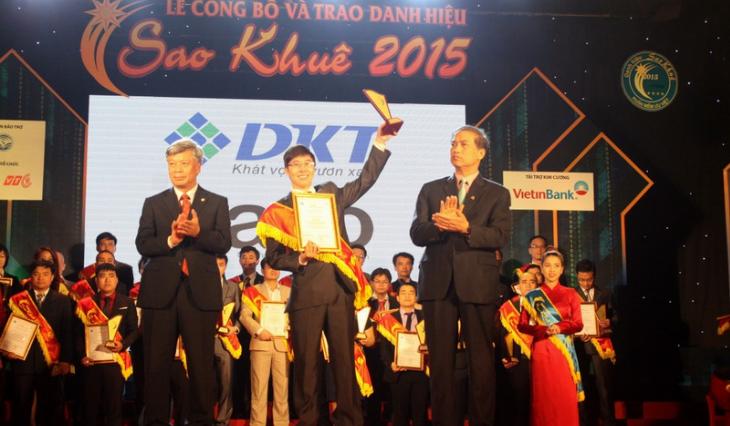 Phần mềm bán hàng Sapo vinh dự nhận giải Sao Khuê 2015