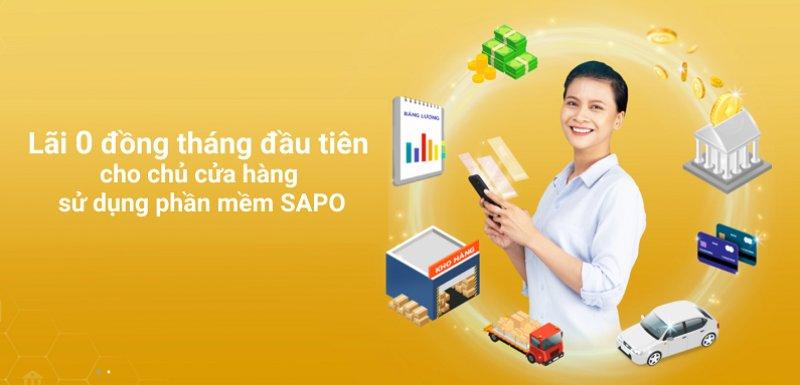 Miễn lãi suất vay vốn kinh doanh từ chương trình hợp tác giữa Sapo và Kim An Group