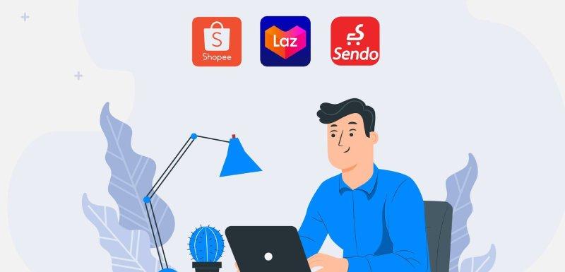 Sapo GO ra mắt tính năng: Đăng bán sản phẩm đa sàn Shopee, Lazada, Sendo
