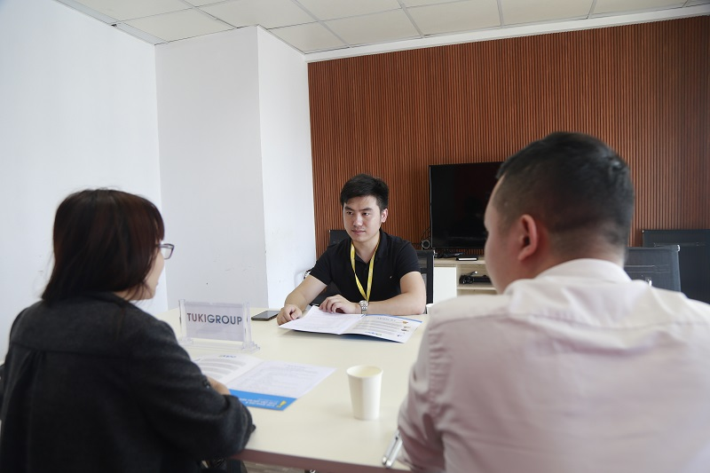 Lễ ký kết thỏa thuận hợp tác giữa Sapo và Tuki Group