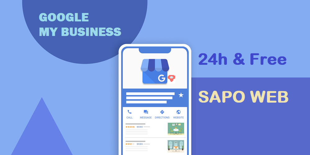 Sapo Web hỗ trợ xác minh Google My Business chỉ từ 24h & hoàn toàn miễn phí