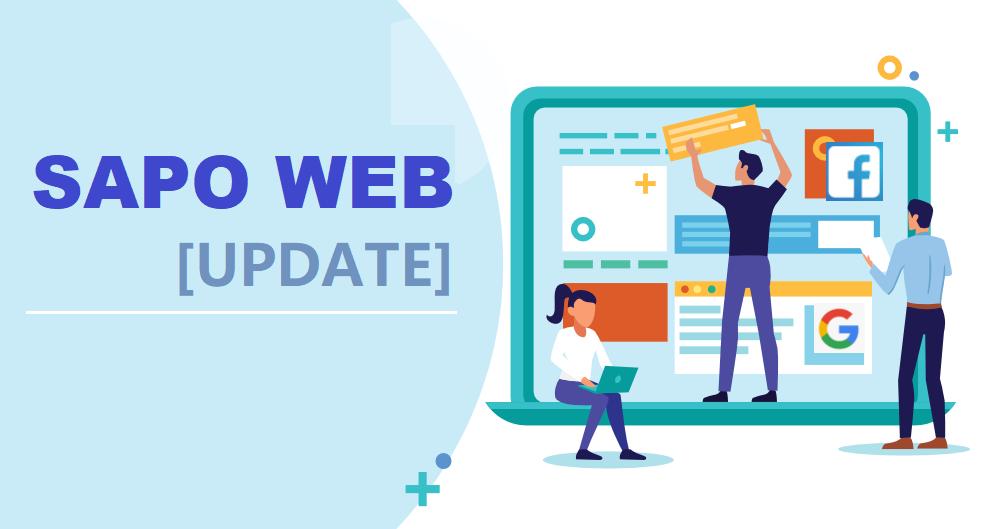 [Sapo Update] Sapo Web nâng cấp nhiều tính năng mới hỗ trợ quảng cáo hiệu quả